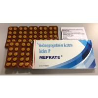 MEPRATE 10mg 100정 (프로베라정 제네릭)